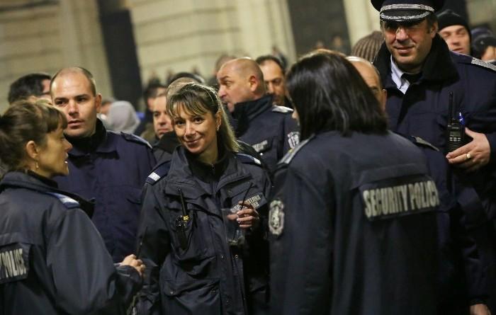 Протест полиция 32